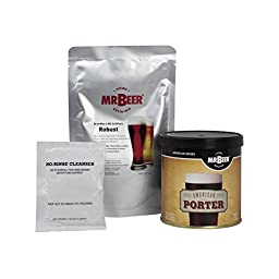Mr. Beer American Porter Deluxe Home Brewing Beer Refill Kit