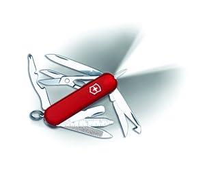 Victorinox Swiss Army Midnite Minichamp, Red