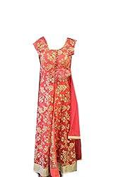 Anjali Women's Georgette Dress Material (Anj12_Multi)