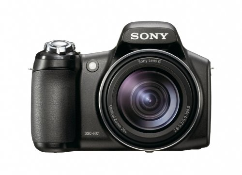 Sony Cybershot DSC-HX1 9.1MP 20x Optical Zoom Digital Camera with Super Steady Shot Image Stabilization and 3.0 Inch LCD