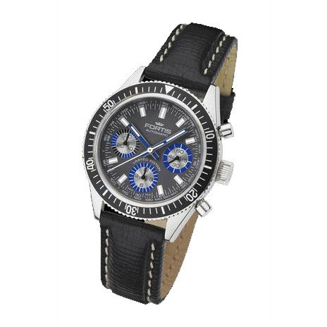 Fortis reloj hombre Maritim Marinemaster Vintage cronógrafo automática 800.20.85 L01