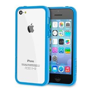rooCASE Apple iPhone 5C ProGuard Bumper Case - Gloss Blue