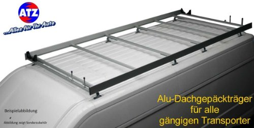 Aluminium-Dachgepäckträger für Fiat Doblo
