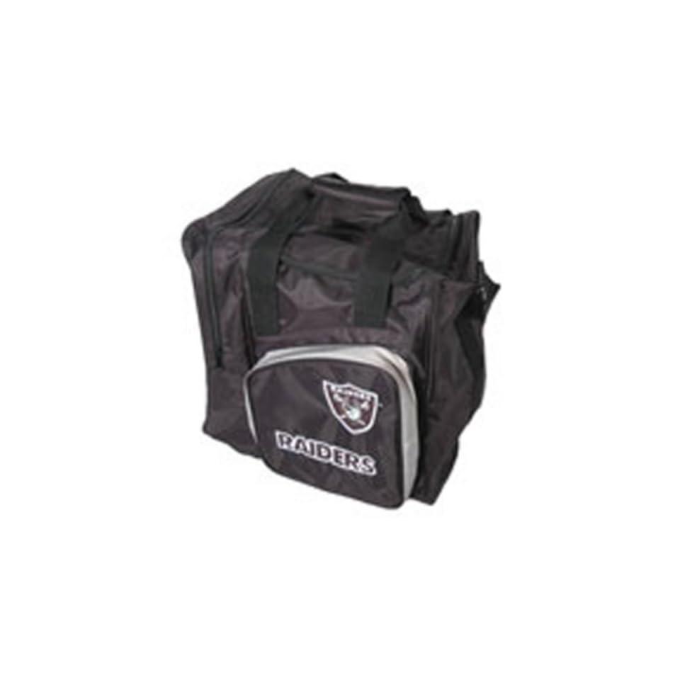 KR Strikeforce NFL Oakland Raiders Single Ball Bag Black/Silver