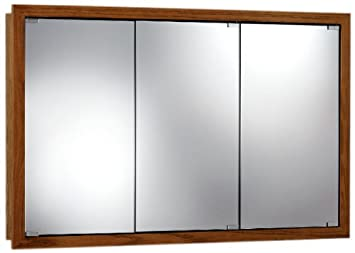 Jensen 740655 Granville Oversize Medicine Cabinet, Honey Oak, 48-Inch by 30-Inch by 4-3/4-Inch
