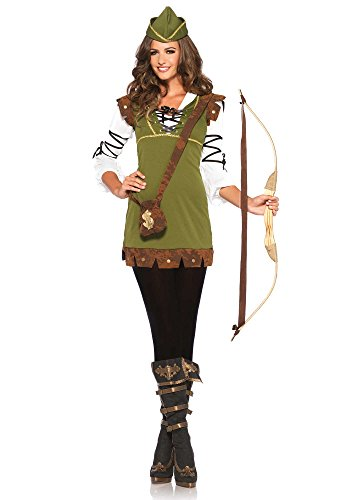 85366 - Klassische Robin Hood Damen kostüm , Größe M/L (EUR 38-40) Damen Karneval Kostüm Fasching