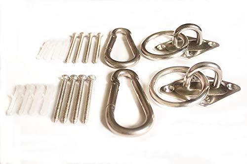 Mhmydz 600 Lb Capacity Premium Hammock Hooks Best Hanging Kit For