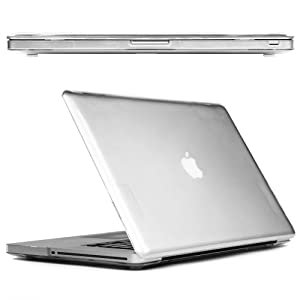 CaseCrown Clip-ON Case for Apple MacBook Pro 13 Inch MC375LL/A Laptop-Clear