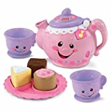 Fisher-Price Laugh and Learn Say Please Tea Set CustomerPackageType: Frustration-Free Packaging, Child, Play, Newborn, Game, Toy