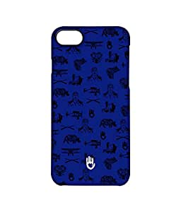 KR Collage Blue - Pro Case for iPhone 7