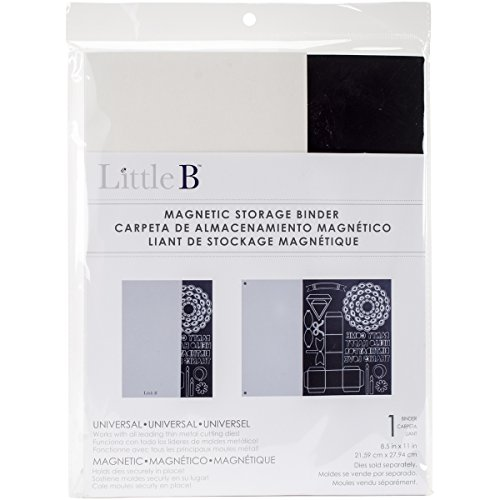 Little B 100585 Magnetic Storage Binder, 8.5 by 11