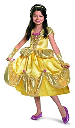 Belle Shimmer Deluxe Costume - Extra Small (3T-4T)