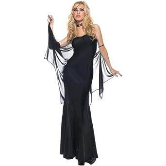 Amazon.com: Night Time Vamp Costume - Small/Medium - Dress Size 4-8