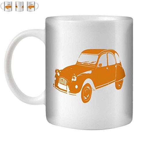 stuff4-tasse-de-cafe-the-350ml-orange-citroen-2cv-ceramique-blanche-st10