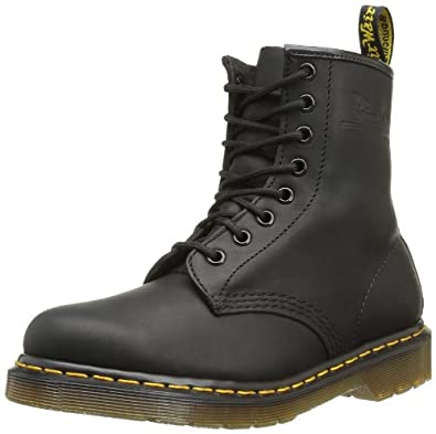 Dr. Martens Womens 1460 W 8-Eye Boot Black Patent Size 8 UK 10 US