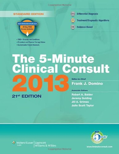The 5-Minute Clinical Consult 2013 (The 5-Minute Consult Series) front-931226