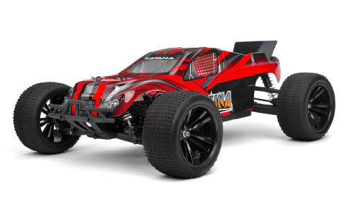 Iron Track Rc Katana 1:10 Scale 4Wd Electric Truggy Ready To Run (Red)