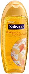 Softsoap Sweet Honeysuckle   Orange Peel Body Wash 18-Ounce