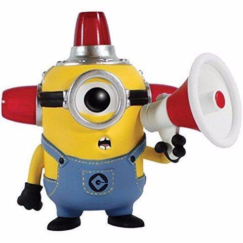 Funko ?POP Movies: Despicable Me 2 - Fire Alarm Minion Action Figure