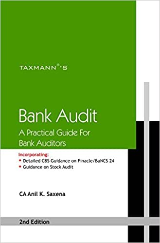 Bank Audit- A Practical Guide for Bank Auditors Paperback – 2016