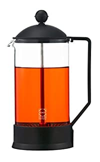 GROSCHE Athens French press: 34 oz/1000 ml, Dual Filter System, Stainless Steel, Ultra fine Nylon Micro-Mesh Filter, Schott Germany Glass Beaker. INCLUDES 1 EXTRA REPLACEMENT SCREEN (A $10 Value!)