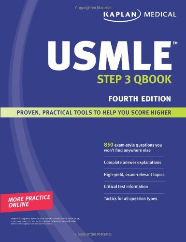 Kaplan Medical USMLE Step 3 Qbook (Step 3 Qbook compare prices)
