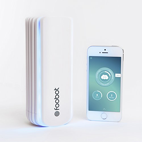 [Obsolete and Discontinued] Foobot, Indoor Air Quality Monitor, Works with Alexa, Nest, and IFTTT