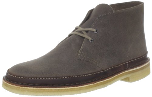 Clarks Men's Desert Guard Lace-Up Boot,Taupe Suede,8.5 M US