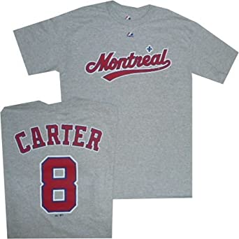 Montreal Expos Gary Carter Throwback Road T Shirt by Majestic