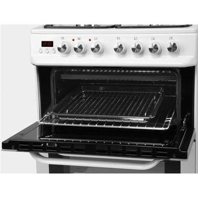 Servis DD60W 60cm Dual Fuel Double Oven Cooker White