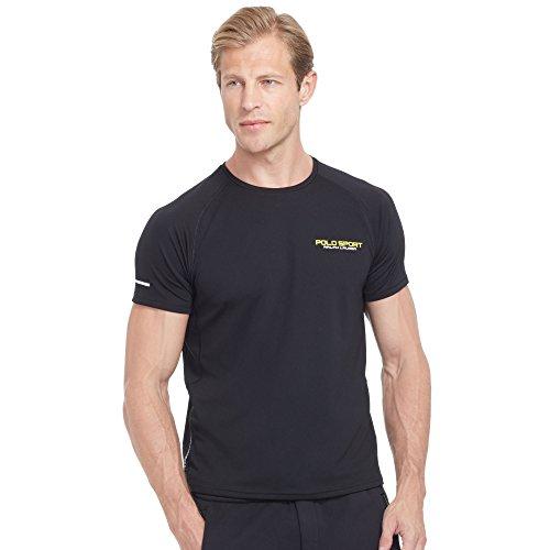 Polo Ralph Lauren Micro-dot Jersey T-shirt (X-Large, Black)