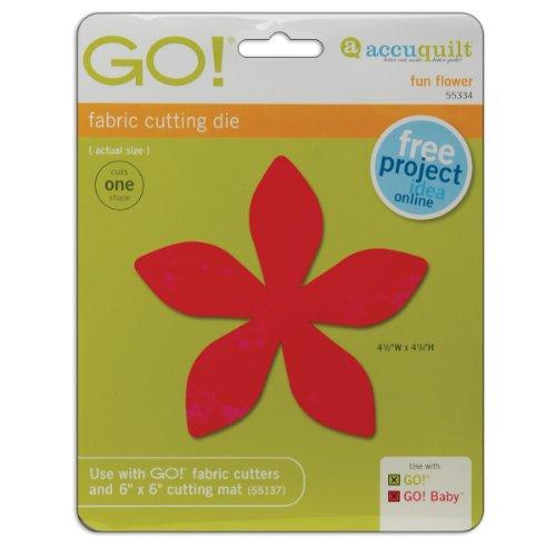 Accuquilt Go! Baby Fabric Cutting Dies; Fun Flower front-861693