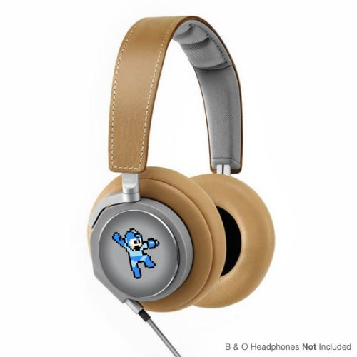 Retro 8-Bit Decal Mega Man (Jump Shot) For Bang And Olufsen (Headphones Not Included)