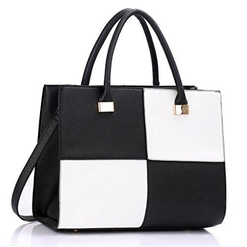 Womens Shoulder Bags Ladies Designer Large Handbag Faux Leather Fashion Tote