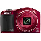 Nikon COOLPIX L610 Digital Camera (Red) (OLD MODEL)