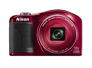Nikon COOLPIX L610 Digital Camera (Red) (OLD MODEL)