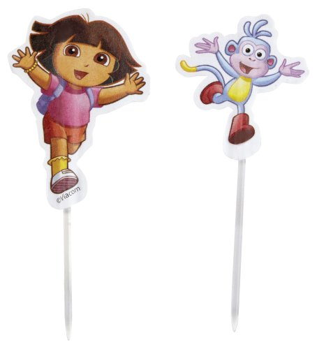 Dora Birthday Cake Toppers Dora Cupcake Rings We Buy Cheaper