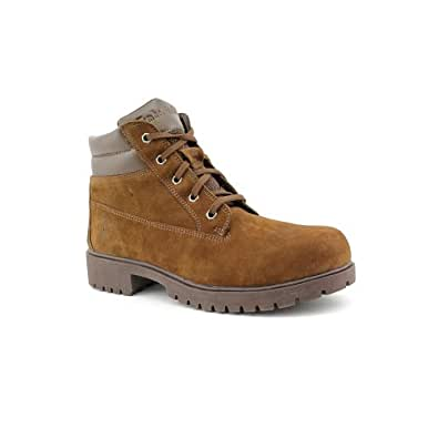 Timberland Women's Donna Comfort Ankle Boots in Dark Brown Size 9.5