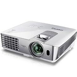 BenQ MS612ST 3D Ready DLP Projector HDTV - 1080p - 800 x 600 - SVGA - 5000:1 - 2500 lm - 4:3 - HDMI - USB - white
