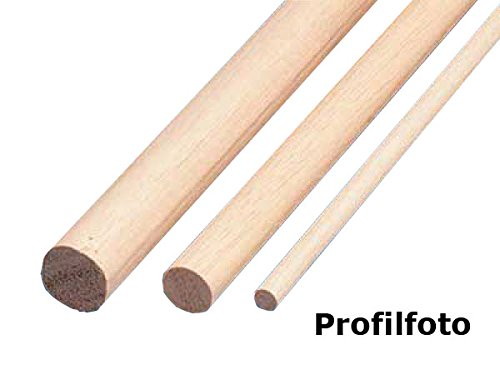Rundstab Massivholz glatt Buche Ø 30 mm Länge 1500 mm 3 Stück jetzt kaufen