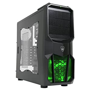 OCHW A6-6400k 4.1GHz Gaming PC (AMD A6-6400K DUAL Core RICHLAND CPU, AMD Radeon 8470D Graphics Card, 1TB Hard Drive, 8GB DDR3 Memory, , USB 2.0, WiFi) (No Operating System)