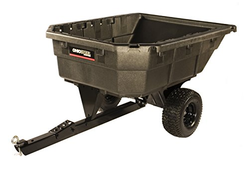 Ohio Steel 4048PSD Heaped Poly Dump Cart With Swivel Dump, 12.5 cu. ft. (Ohio Steel Dump Cart compare prices)