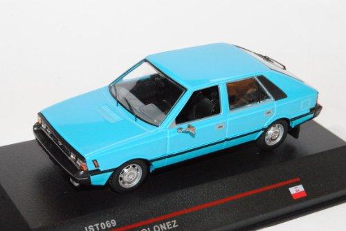 FSO Polonez 1978 Hell Blau IST069 1/43 Ist Ixo Modell Auto