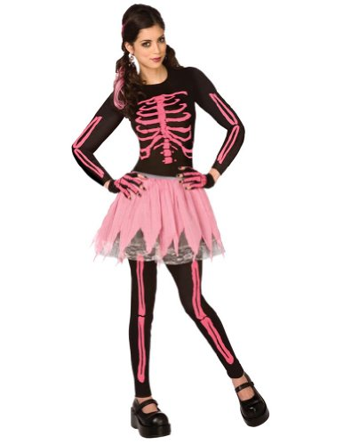 Pink Punk Skeleton Adult Costume Xsm Adult Womens Costume