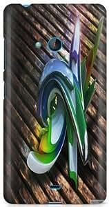 Premium Designer Hard Back Case Cover For Microsoft Nokia Lumia 540 N540