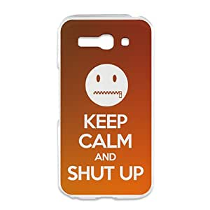 Amazon.com: BeCool Alcatel One Touch Pop C9 Cover Keep Calm Shut up