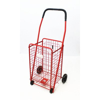 Trimmer Small Shopping Cart, Red front-13090