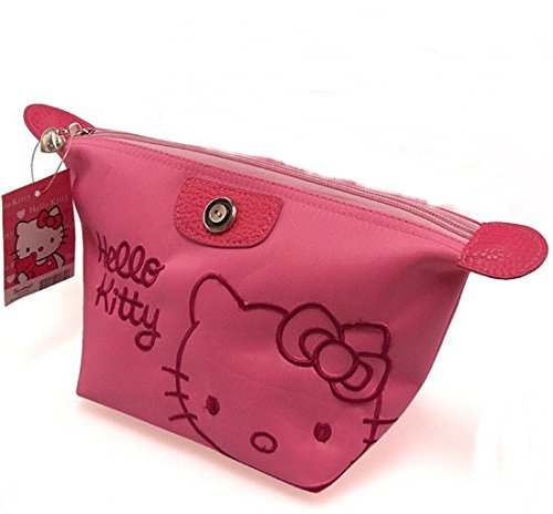 Hello-Kitty-Women-Beauty-Cosmetic-Makeup-Bags-Toiletry-Casetravel-Clutch-Bag