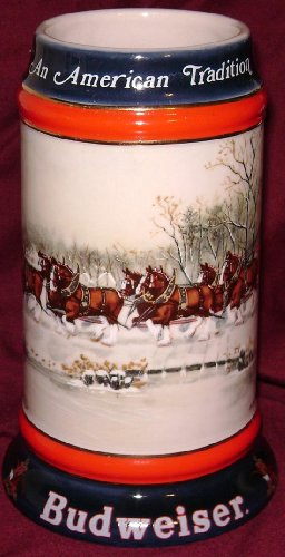 1990-budweiser-holiday-beer-stein-an-american-tradition