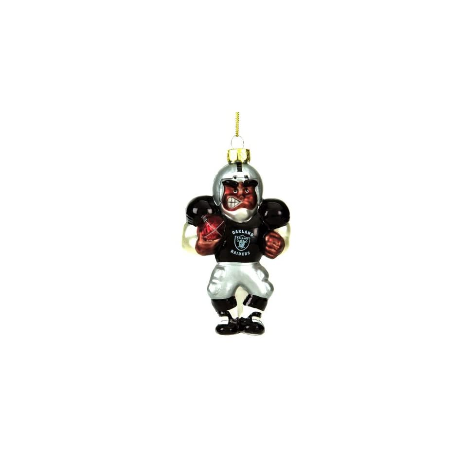 Nfl Glass Player Ornament (4 African American)